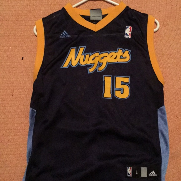 the best attitude 327d2 7580f Vintage Carmelo Anthony Denver nuggets jersey